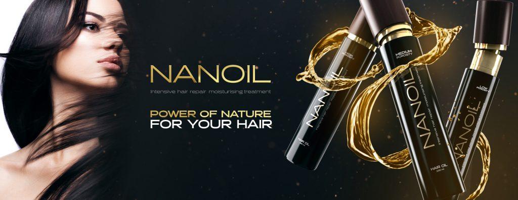 Nanoil hair oil - Three times as brilliant!