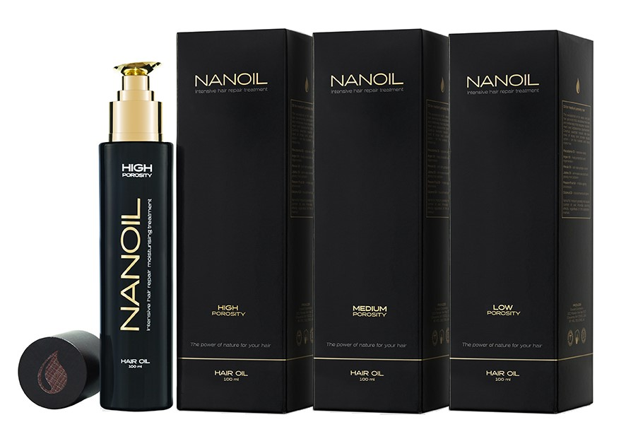 Nanoil hair oil knows what the needs of the particular hair type are