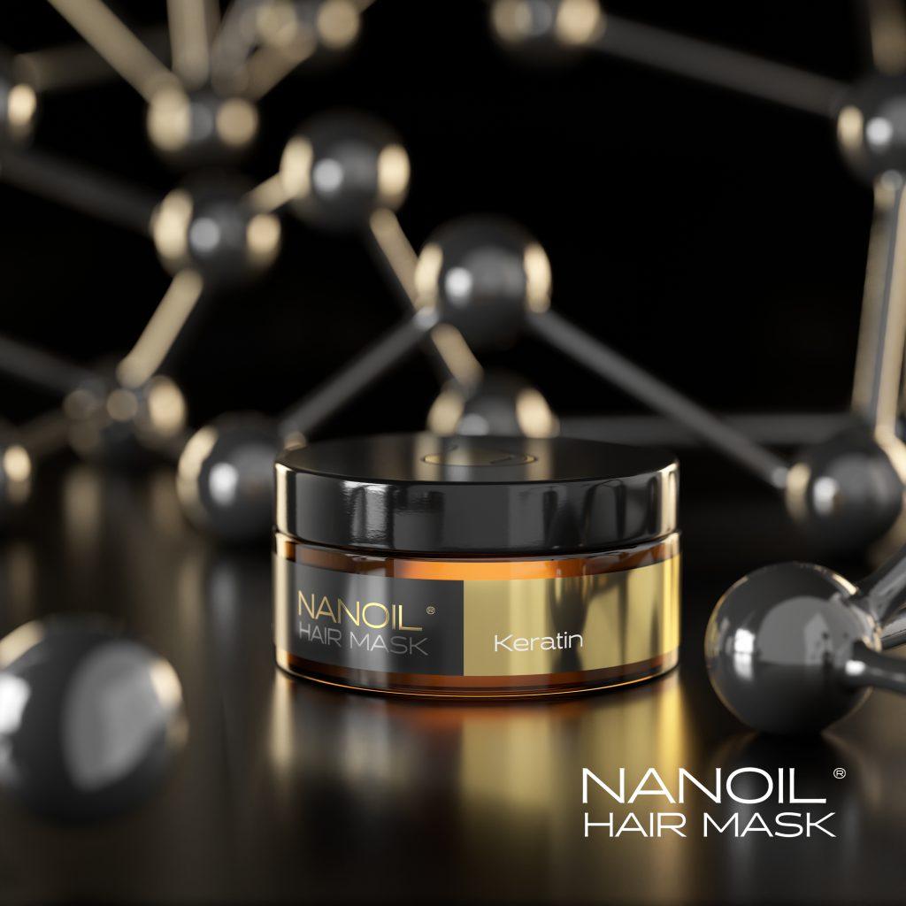 the best keratin hair masks Nanoil